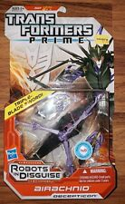 Transformers Prime Decepticon Airachnid Robots in Disguise Deluxe MISP NEW