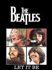 THE BEATLES LET IT BE ALBUM COVER FRIDGE MAGNET