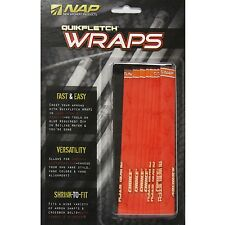 NAP New Archery Products QuikFletch Crest Wraps Bone Collector Crush USA 12pk