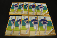 (10) 2011 Heritage GRANT GREEN #15 Midland Rockhounds Minor League RC LOT
