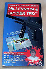 Kingman Spyder Millennium Paintball Gun TECH TRIX VIDEO VHS Tape Bob Long