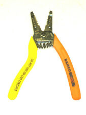 NEW BAHCO TOOLS 10-18 AWG SOLID WIRE STRIPPER PLIERS #810000
