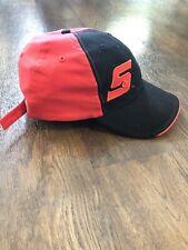Snap On Racing Tools Logo Cap Dad Hat RED/BLACK Adjustable Back Name on Side