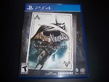 Replacement Case (NO GAME) BATMAN RETURN TO ARKHAM PlayStation 4 PS4 Box