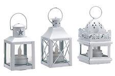heine home Set: LED-Dekolaternen, 3-tlg. ,Zum Aufhängen , Inkl LED Teelicht.