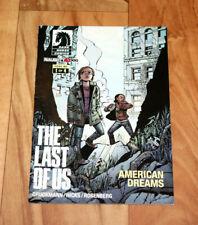The Last of Us American Dreams 1 of 4 Mini German Comic PS3 American Dreams
