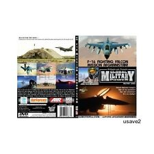 F-16 USAF AFGHANISTAN Fighter Aircraft Jet Video DVD