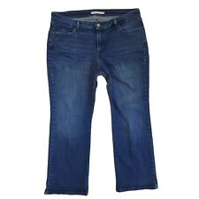 Levis 415 Jeans Womens Size 20W Classic Boot Cut Zipper Fly Dark Wash 39x28 7/8