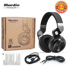 NEW Bluedio Turbine T2 Wireless Headphone Bluetooth 4.1 Stereo Headsets Black
