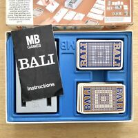 BALI by MB Games. Vintage Family Word Game circa 1975 COMPLETE
