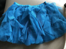 crazy 8 by gymboree blue cascade tulle skirt ruffle  5t 5 NWT