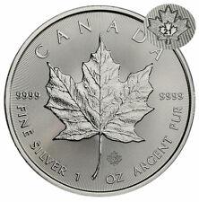 2021 Canada 1 oz Silver Maple Leaf $5 Coin Gem Bu Presale