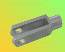 1 x Gabelkopf 10x40 DIN 71752 - M10 - verzinkt - OHNE Zubehör - Gabelgelenk