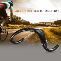 Lixada Carbon Fiber Bicycle Handlebar Track Cycling Handle Bar Highway L3T0