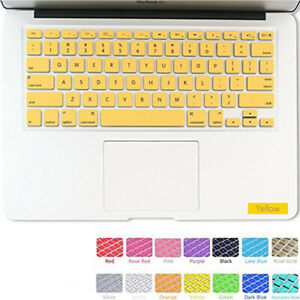 """Silicone Keyboard Skin Covers Case For Apple Macbook Pro 13"""" 15"""" Retina Air 11"""""""
