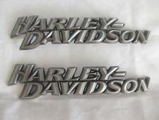 Harley Davidson tankembleme tankschilder Réservoir Emblèmes 62308-10 & 62309-10