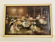 Carlotta Edwards 1950s Ballet Art Print Symphonie Fantastique 28cm L x 40.5cm