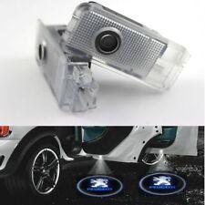 2 x éclairage de porte projecteur logo laser LED Peugeot 206 207 RCZ 408 307