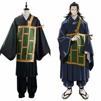 Anime Jujutsu Kaisen Suguru Getou Cosplay Costume Kimono Outfit Halloween