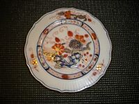 MING ROYAL PLATE #03413 HAND PAINTED PLATE 6 3/8''