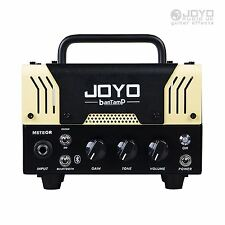 Joyo METEOR bantamp Amplificateur de Guitare Tête 20 W Tube 2 Channel Bluetooth NOUVEAU!