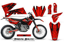 CREATORX GRAPHICS KIT FOR KTM 05-07 EXC/XC 05-06 SX TRIBAL BOLTS RNP
