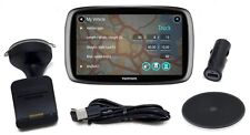 "NEW TomTom GO 600 TRUCKER Portable 6"" GPS Lifetime Truck Maps + Traffic USA/CAN"