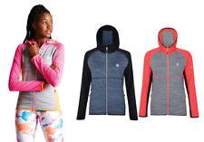 Dare2b Womens Courteous CoreStr Lightweight Hooded Midlayer Fleece Jacket