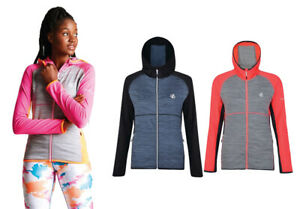 Womens Dare2b Courteous Core Stretch Sporty Hooded Softshell Jacket RRP £50