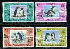 BRITISH ANTARCTIC TERRITORY MH Selections: Scott #72-75 Penguins FAUNA CV$20+