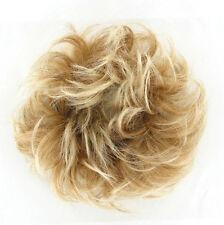 bollo de cabello coletero luz rubia rubio cobre malla poli claro 17/27t613