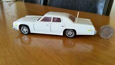 Rare Vintage Dinky Plymouth Gran Fury Diecast Car 13cm Long Code 3 Refurb White