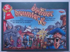 😊 👀 Drunter & Drüber 👀😊 Spiel des Jahres 1991 / Klaus Teuber - Ab 9 Jahre