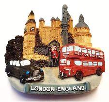 London Collage Fridge Magnet Souvenir Gift Landmarks Scenes Bus Big Ben Taxi