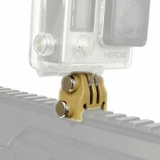 Accessories 20mm Picatinny Gun Rail Mount Airsoft Gun Adapter Kit for GoPro Acti