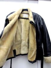 Women's Leather Fashion Winter Jacket Sz L