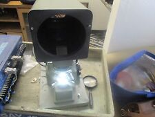 "Pola-Vision: PV-300 Optical Comparator.  Good Working. Missing 5""  Diffuser<"