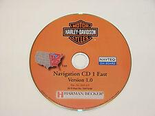 06 07 2008 HARLEY DAVIDSON MOTOR CYCLE CYCLES NAVIGATION MAP DISC CD 1 EAST 1.0