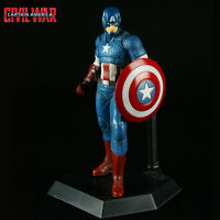 Crazy Toys Marvel Avengers Captain America Action Figure Model Doll Statue