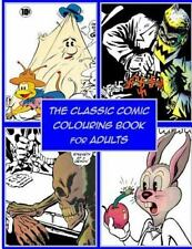 Book 2: The Classic Comic Colouring Book for Adults by Awesome Coloring...