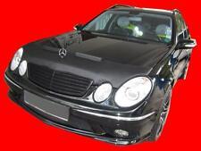 Mercedes Benz E-Class W211 2002-2006 CUSTOM CAR HOOD BRA NOSE FRONT END MASK