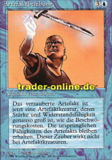 Artefaktbelebung (Animate Artifact) Magic limited black bordered german beta fbb