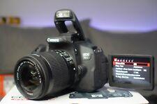 Canon EOS 700D SLR-Digitalkamera - Kit EF-S 18-55mm / Wenig Benutzt