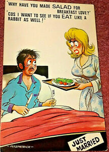 Saucy Seaside Postcard by Bamforth & Co Ltd - Unposted - 80 FREE POSTAGE**