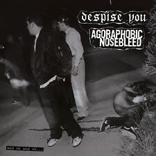 AGORAPHOBIC NOSEBLEED / DESPISE YOU And on... CD NEW Relapse Records CD7020R