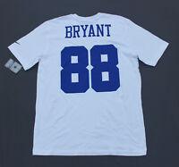 Dez Bryant  88 Dallas Cowboys Jersey Style T-Shirt White   Blue (NWT 014950915
