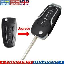For Ford Focus Fiesta Galaxy Mondeo C-Max S-Max Transit UK Remote Key Shell Case