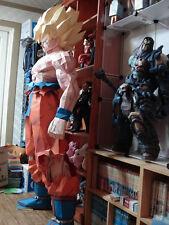 "Big 1:1 3D DIY Paper Model Kit 1.8m 71"" Japanese Anime Dragon Ball Fighting Goku"