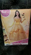 Disney Princess Costume Belle Beauty and the Beast Simplicity Pattern New