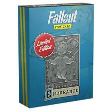 Fallout Limited Edition Perk Card Metal SPECIAL Endurance Limité à 5000